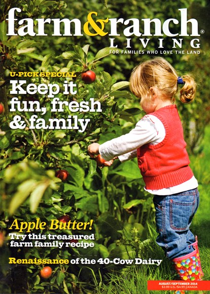 Farm & Ranch Living Cover - 8/1/2014