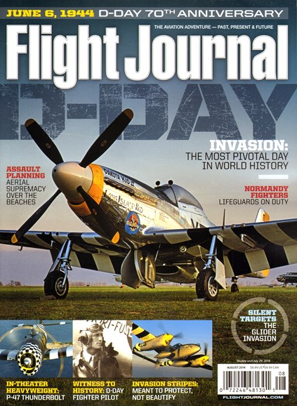 Flight Journal Cover - 8/1/2014