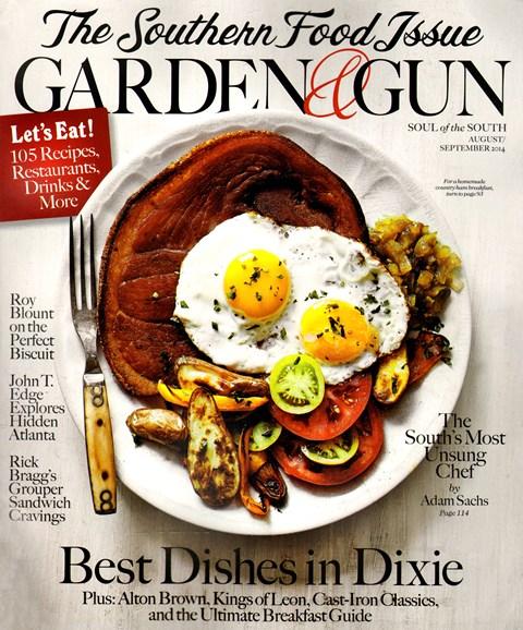 Garden & Gun Cover - 8/1/2014