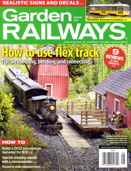 Garden Railways Cover - 8/1/2014