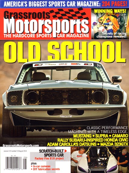 Grassroots Motorsports Cover - 8/1/2014
