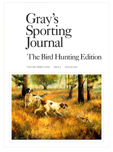 Gray's Sporting Journal Cover - 8/1/2014
