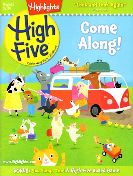 Highlights High Five Cover - 8/1/2014
