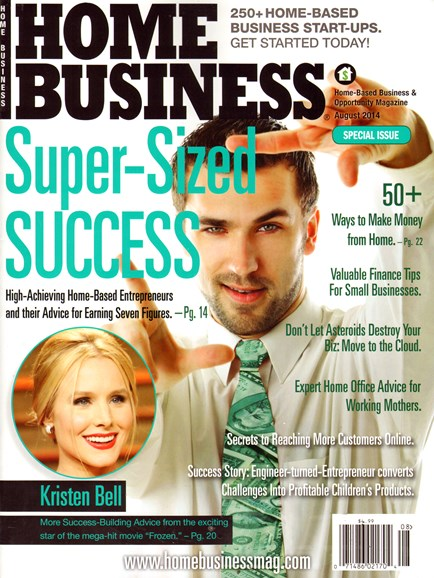 Home Business Magazine Cover - 8/1/2014