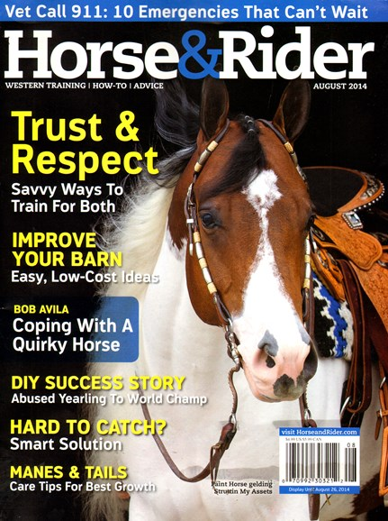 Horse & Rider Cover - 8/1/2014