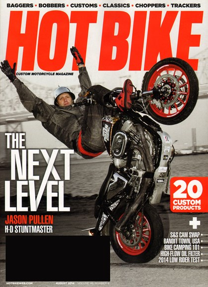 Hot Bike Cover - 8/1/2014