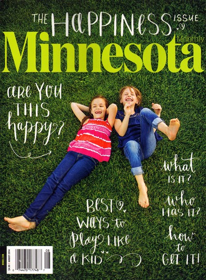 Minnesota Monthly Cover - 8/1/2014