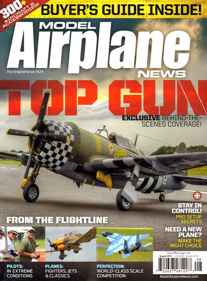 Model Airplane News Cover - 8/1/2014