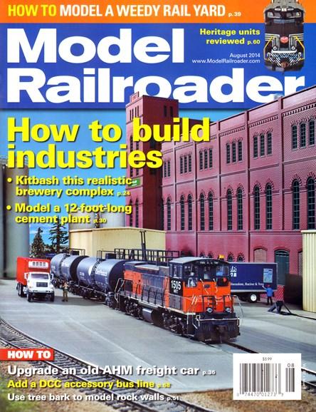 Model Railroader Cover - 8/1/2014