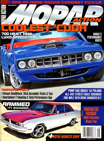 Mopar Action Cover - 8/1/2014