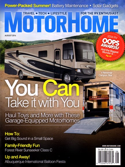 MotorHome Cover - 8/1/2014