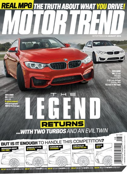 Motor Trend Cover - 8/1/2014