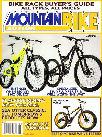 Mountain Bike Action Cover - 8/1/2014