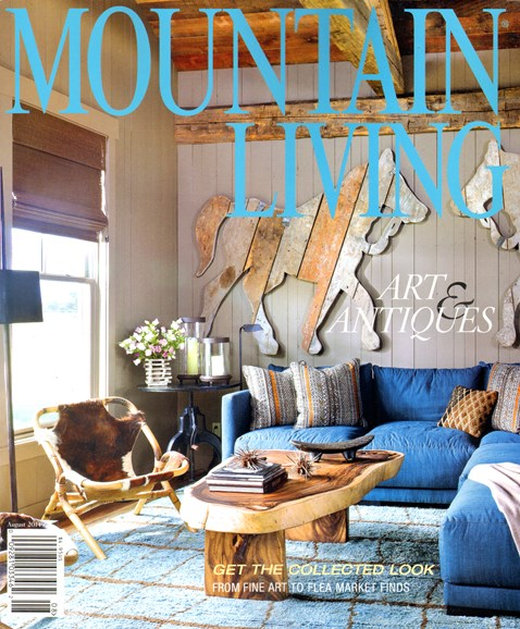 Mountain Living Cover - 8/1/2014