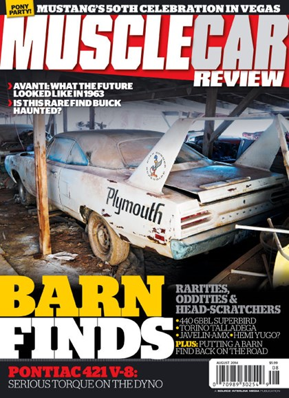 Muscle Car Review Cover - 8/1/2014