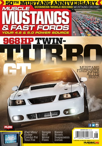 Muscle Mustangs & Fast Fords Cover - 8/1/2014