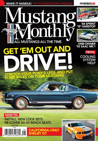 Mustang Monthly Cover - 8/1/2014