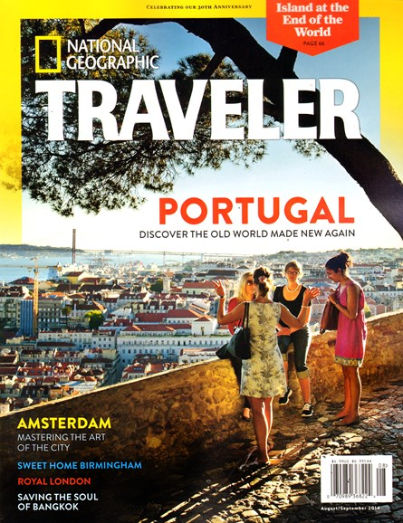 National Geographic Traveler Cover - 8/1/2014