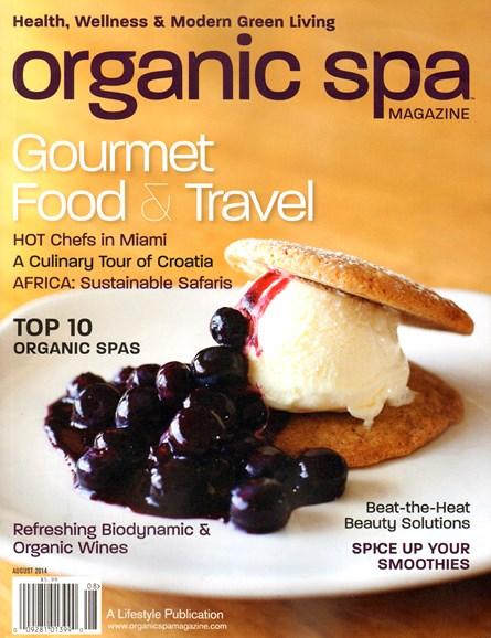 Organic Spa Cover - 8/1/2014