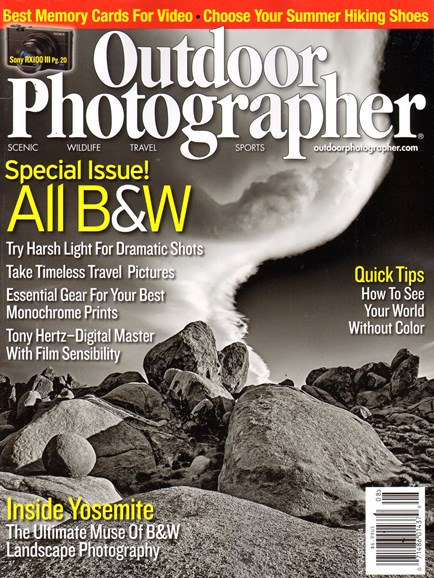 Outdoor Photographer Cover - 8/1/2014
