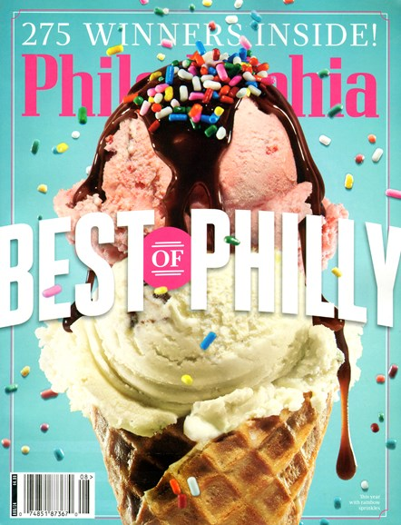 Philadelphia Magazine Cover - 8/1/2014