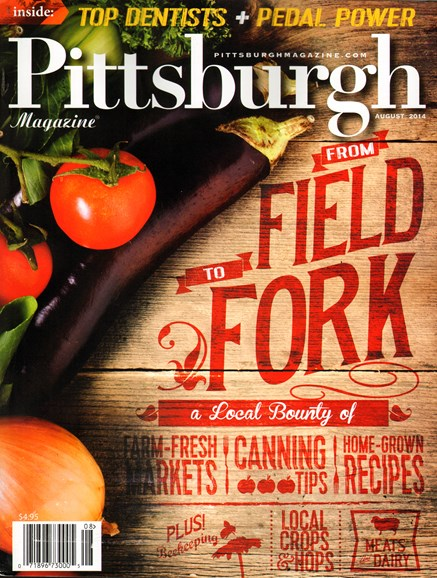 Pittsburgh Magazine Cover - 8/1/2014