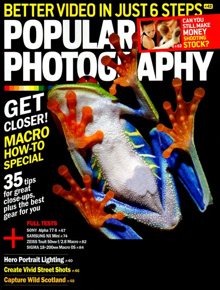 Popular Photography Cover - 8/1/2014