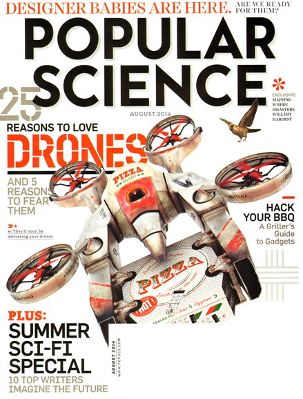 Popular Science Cover - 8/1/2014