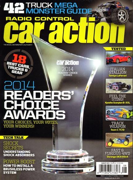 Radio Control Car Action Cover - 8/1/2014