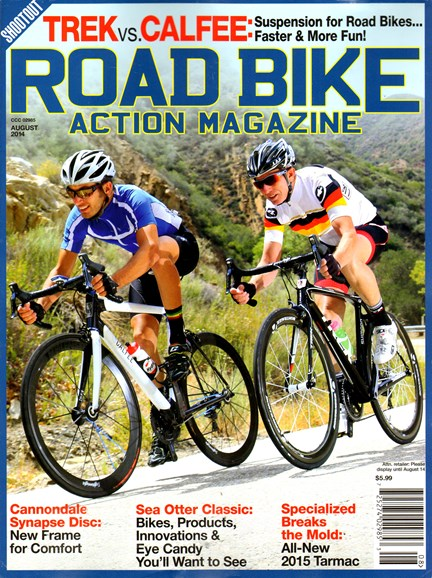 Road Bike Action Cover - 8/1/2014