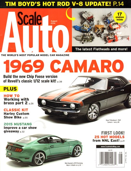 Scale Auto Magazine Cover - 8/1/2014