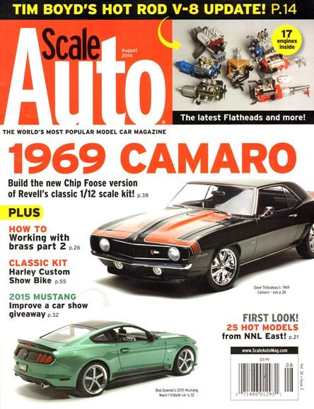 Scale Auto Magazine Cover - 8/1/2014