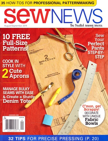 Sew News Cover - 8/1/2014