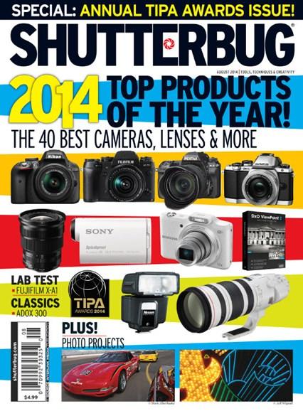 Shutterbug Cover - 8/1/2014