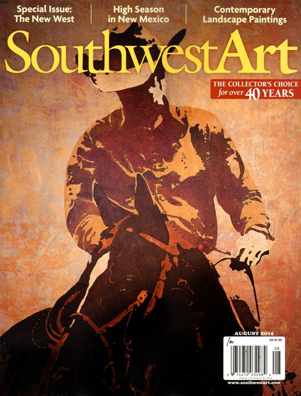 Southwest Art Cover - 8/1/2014