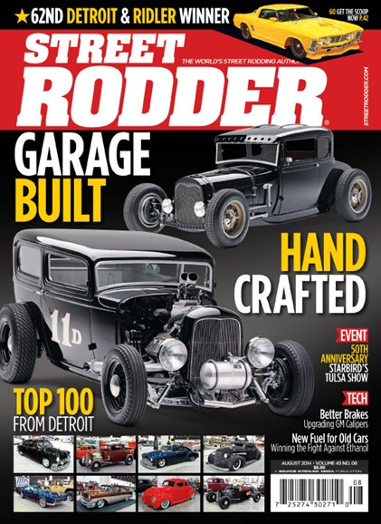 Street Rodder Cover - 8/1/2014