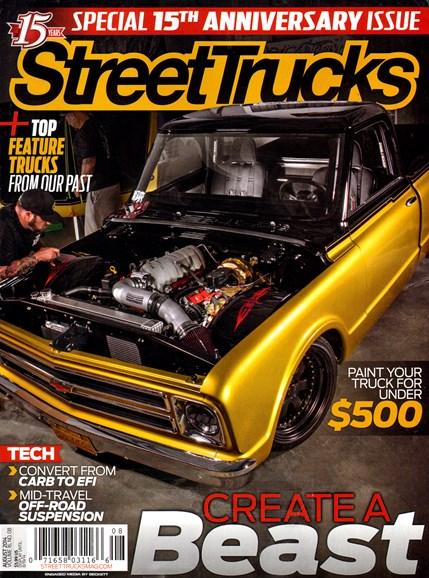 Street Trucks Cover - 8/1/2014