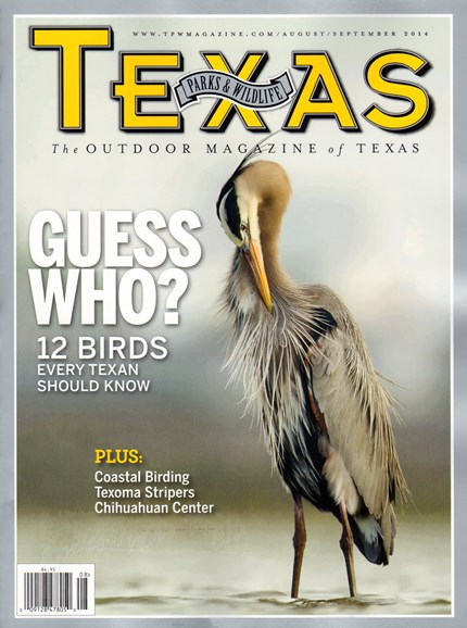Texas Parks & Wildlife Cover - 8/1/2014