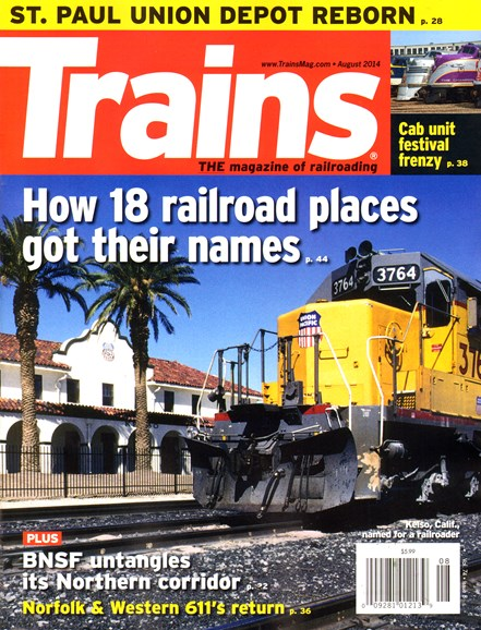 Trains Cover - 8/1/2014