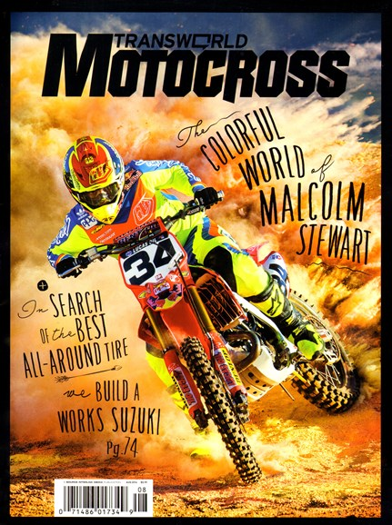 Transworld Motocross Cover - 8/1/2014