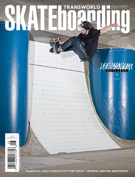 Transworld SKATEboarding Cover - 8/1/2014