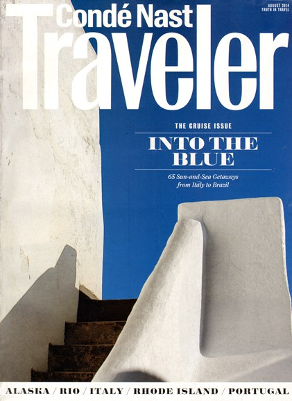 Condé Nast Traveler Cover - 8/1/2014