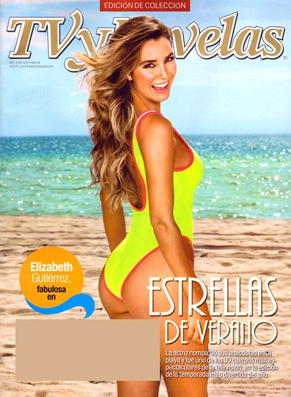 Tv Y Novelas Cover - 8/1/2014