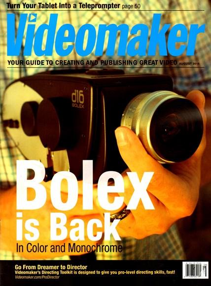 Videomaker Cover - 8/1/2014