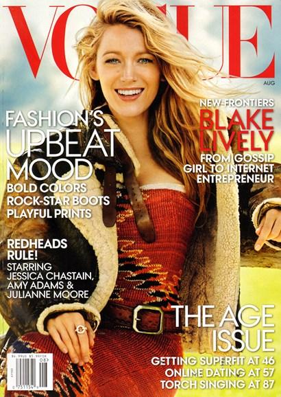 Vogue Cover - 8/1/2014