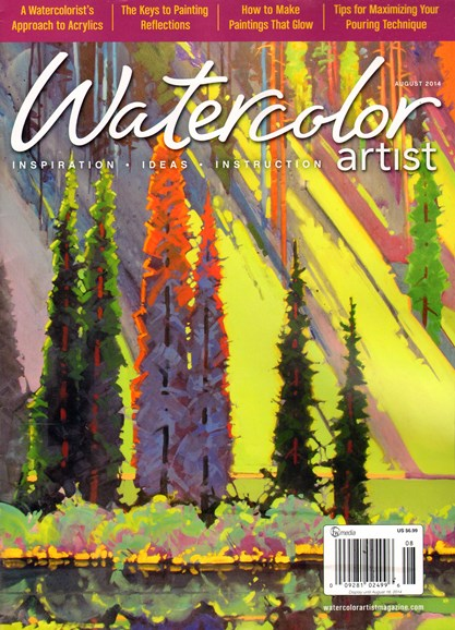 Watercolor Artist Cover - 8/1/2014