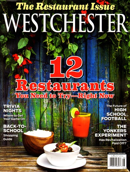 Westchester Magazine Cover - 8/1/2014