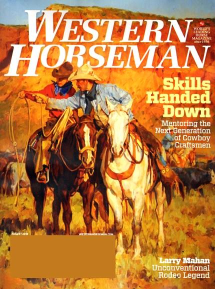 Western Horseman Cover - 8/1/2014