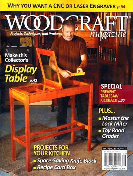 Woodcraft Cover - 8/1/2014