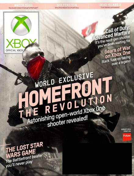 Official Xbox Magazine Cover - 8/1/2014